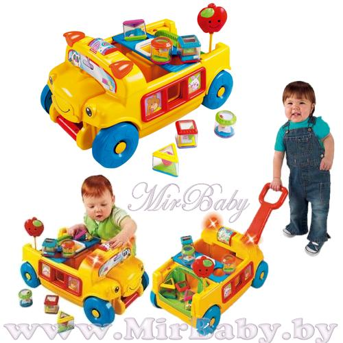 Peek-a-Blocks™ Sort & Roll™ School Bus