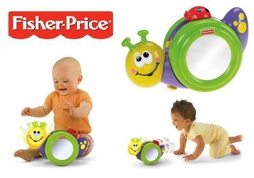 Fisher-Price Go Baby Go! 1-2-3 Crawl Along Snail