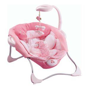 «РОЗОВАЯ БАБОЧКА» Чудесное детское кресло с музыкой и вибрацией.