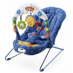 «ТОПАЙ И ИГРАЙ» Чудесное кресло-качалка со световыми и музыкальными эффектами!