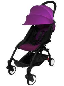 Детская прогулочная коляска Yoya пурпурный
