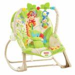 Массажное кресло-качалка «Веселые обезьянки» Fisher-Price
