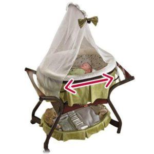 Zen Collection «Gliding Bassinet Zen» Fisher Price укачивающая колыбель-кроватка напрокат