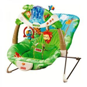 «ТРОПИЧЕСКИЙ ЛЕС» кресло-шезлонг от Fisher-Priceпрокат