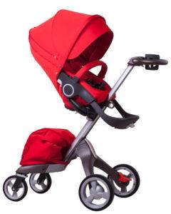 Прогулочная коляска 2 в 1 DsLand V4 Красная