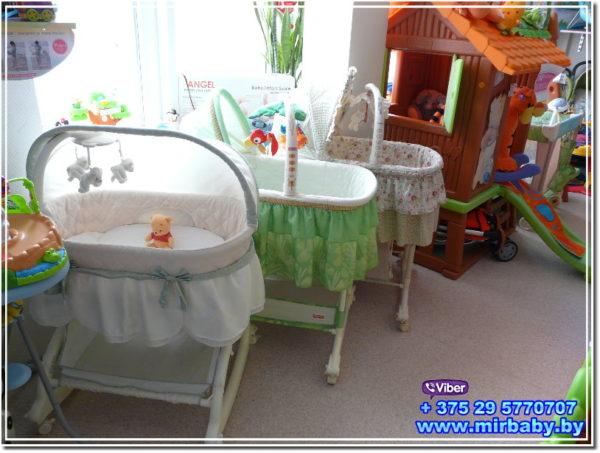 прокат детских товаров в Минске mirbaby.by колыбели, кроватки , манежи
