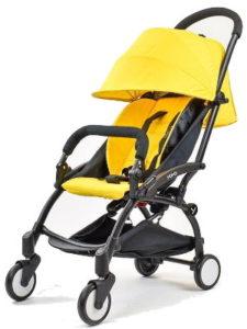 Прогулочная коляска Yoya 175 желтая прокат